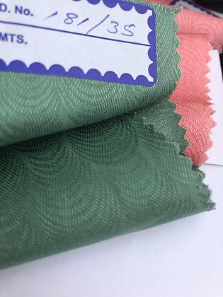 Modal & Cotton Jacquard P5. 20s Pattern. SpearmInt