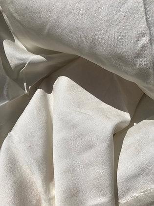 100% Ahimsa Peace Silk Broken Satin Weave . 16mm. 70gsm