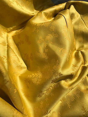 MODAL & Cotton Jacquard. P1. GOLD. 135gsm