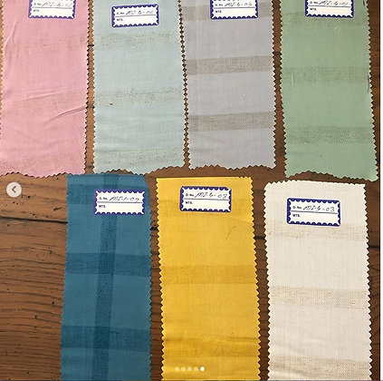 MODAL W. linen stripes.  Light Grey - Sampling 3m minimum.  aud$22/m.