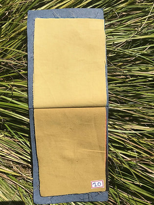 MUD YELLOW. Plain. ORGANIC COTTON. 90gsm Price $10.60/m* >250m