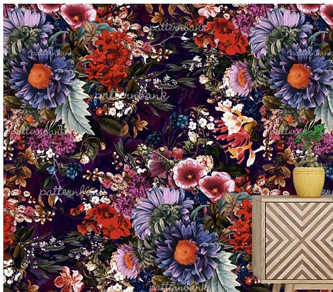Botanical 12. Eco-Digital printing on choice EcoVero, Tencel Satin or Modal