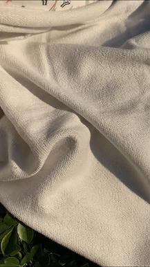 Snug Organic Cotton UnBrushed Fleece Single Side Terry