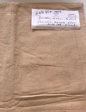 17. AYURVESTRA ORGANIC COTTONBrown /Neem / Thulsi / Jasmine. 80 medicinal plants