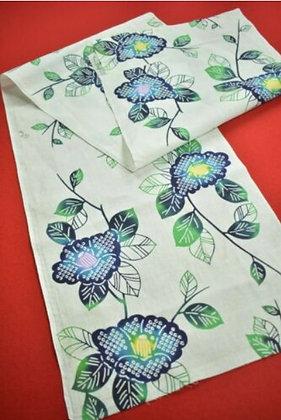 11 Japanese vintage kimono Boro fabric cotton 152x36cm