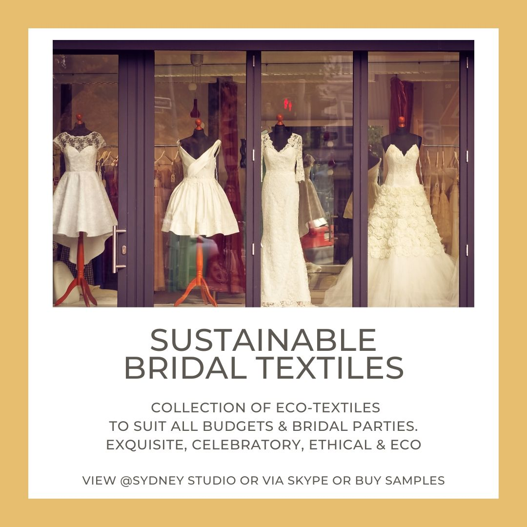 7. SUSTAINABLE BRIDAL TEXTILES