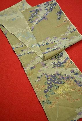 "3 Japanese vintage kimono Boro fabric silk"""