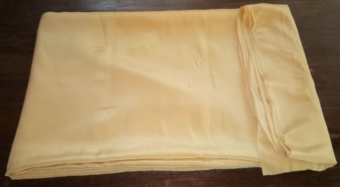Ayurvastra Ahimsa Silk/Peace Silk - Pale Yellow
