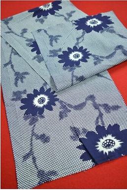 14 Japanese vintage kimono Boro fabric cotton 138x32cm
