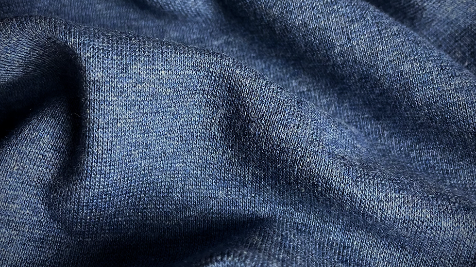 97% Organic Cotton 3% ROICA™ V550