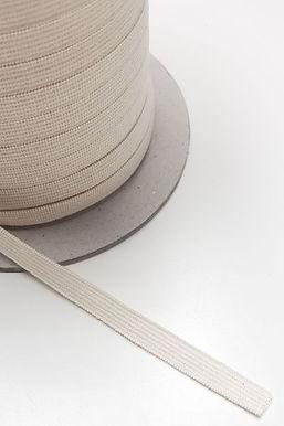 9.5mm x 100m. Elastic 48% Organic Cotton 52% Natural Rubber