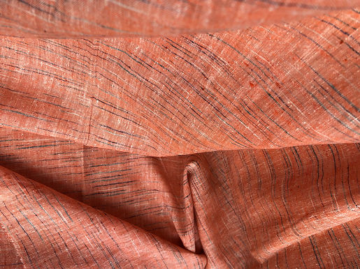 Ayurvastra Ahimsa Silk/Peace Silk. 5m SAMPLING.