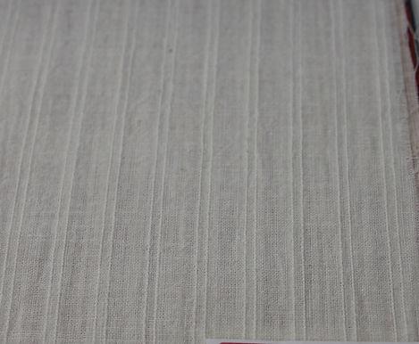 100gsm HANDLOOM KHADI. Ashes White. Textured Khadi. Price $23.23/m*