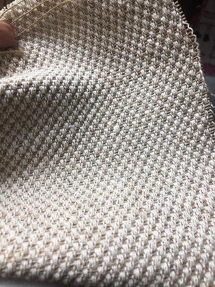 Jute+ GOTS Organic Cotton.  Handloom. 350gsm. JC25