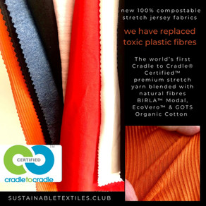 SAY GOODBYE TO PLASTIC IN YOUR TEXTILES