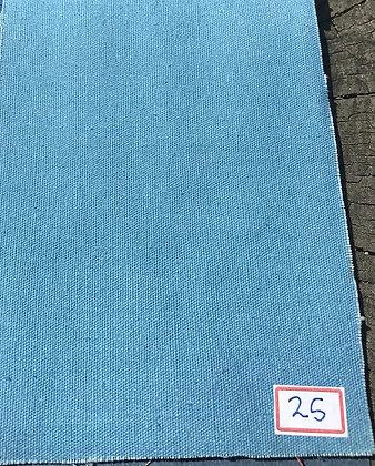 320gsm. OCEAN INDIGO. Plain. ORGANIC COTTON. Price $25.55/m* >100m