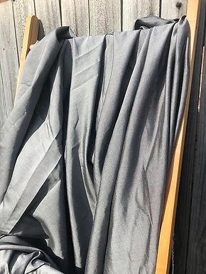 5m TENCEL DENIM. Black/Silver. $15.50/m.  100% TENCEL. Woven