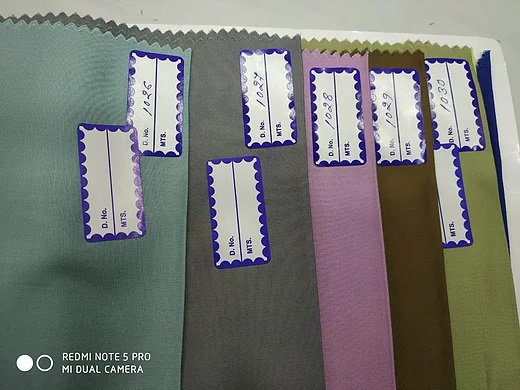 BOOK1b. MODAL TWILL 135gsm Sample Book. 30 colours
