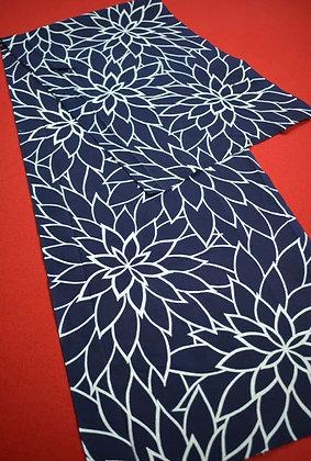 10 Japanese vintage kimono Boro fabric cotton 152x36cm