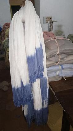 SCARVES. LARGE. AYURVASTRA HANDLOOM ORGANIC COTTON. Plant dyes, Ayu
