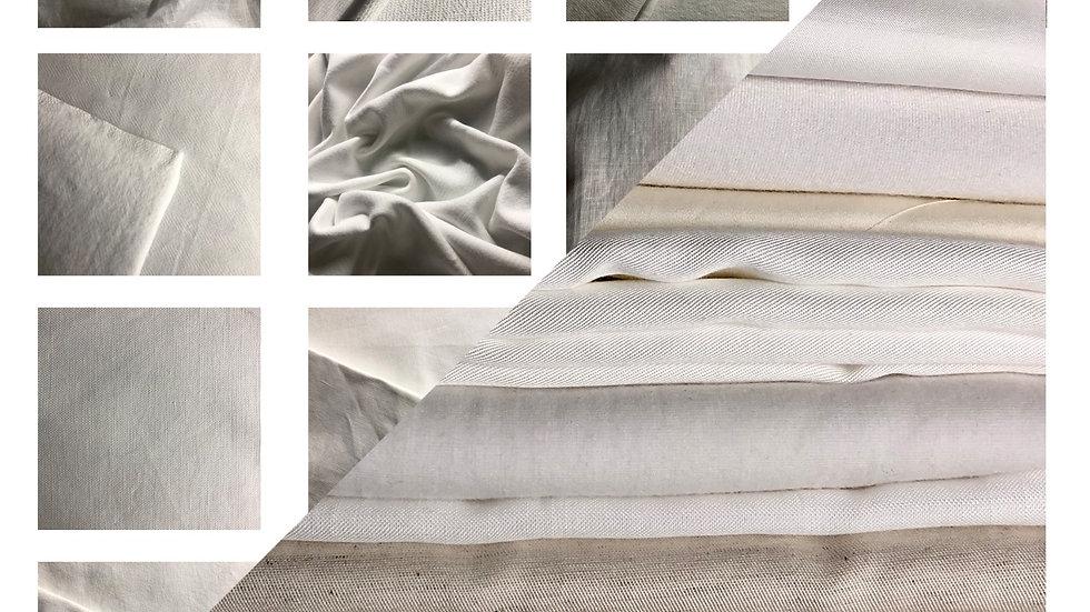 GOTS Organic Cotton & Lenzing Swatch Set