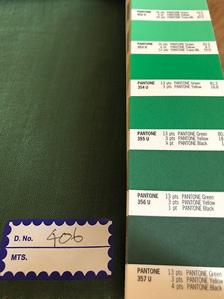 TENCEL™ SLUB 135gsm. Green406