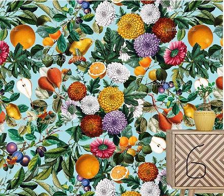 Botanical 6. Eco-Digital printing on choice EcoVero, Tencel Satin or Mod