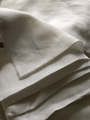 L1-L5 SWATCHES WHITE -LINEN PLUS LINEN & ORGANIC COTTON BLENDS