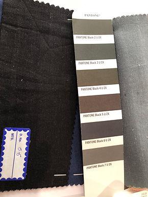 Tencel & Flax Cotton 06 Black