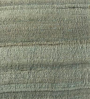 Khadi Tussar Silk Handloom. 90gsm. GREEN/GOLD. < 100 metres aud$33.90