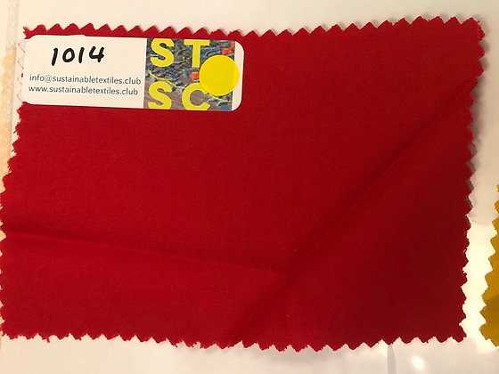 14 MODAL™  Twill. 135gsm. 1014 Red