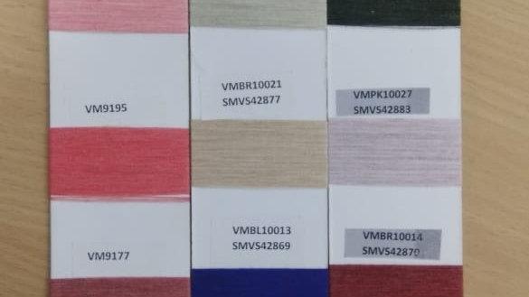 95% Birla Viscose 5% ROICA™ V550