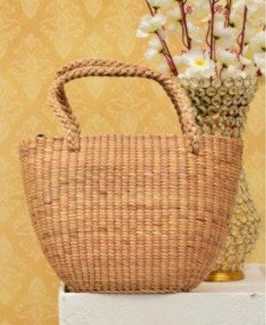 #10 Water Hyacinth Bag. Medium