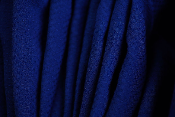 HANDLOOM COTTON. 120gsm. MEDIUM INDIGO. Plain. Price $20.84/m* >250m