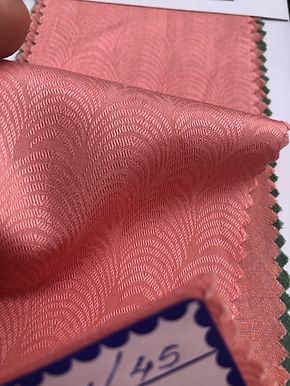 Modal & Cotton Jacquard P5. 20s Pattern. Rose Pink