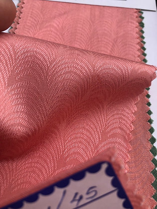 Modal & Cotton Jacquard P5. 20s Pattern. Rose Pink