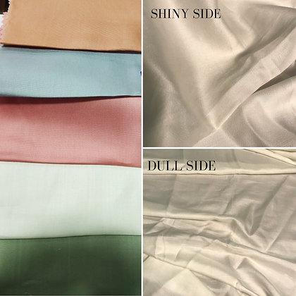 BOOK1a-SAMPLING. TENCEL SATIN . 30m Sampling