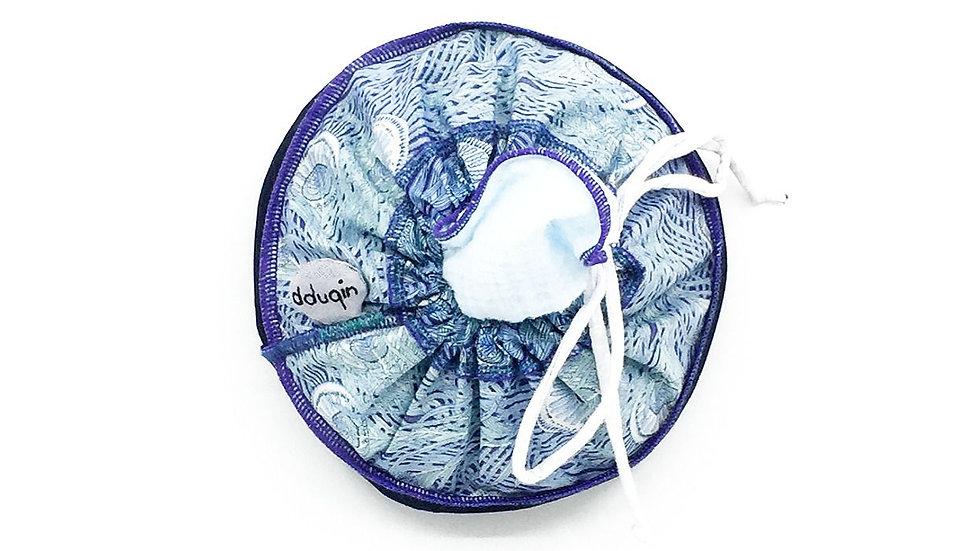 glimps of a peacocks fan