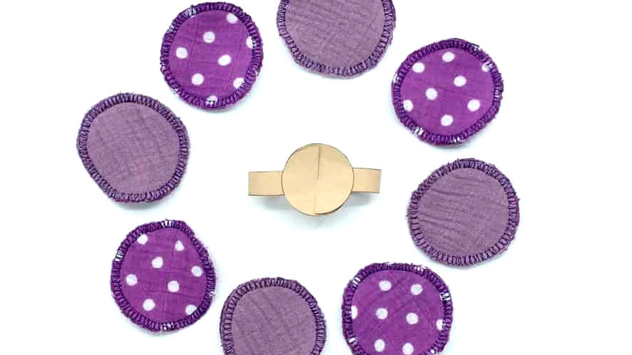 copy of reusable make up pads
