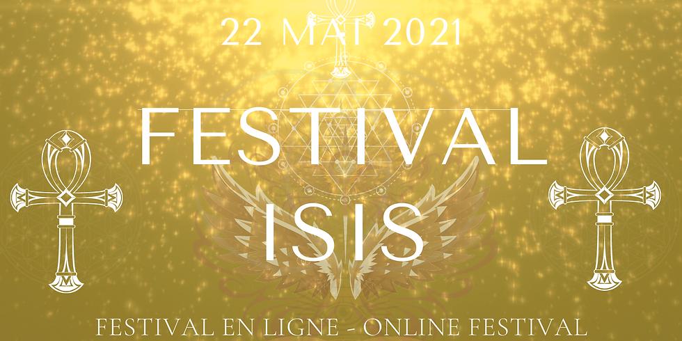 Festival Isis en ligne - 22/05/2021
