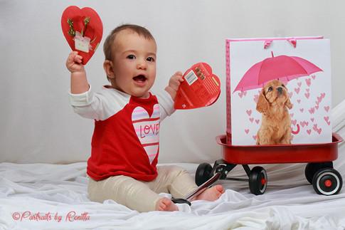Baby toddler portrait