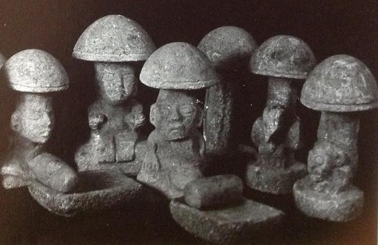 de Borhegyi mushroom stones.jpg