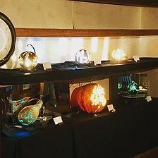 ひょうたんランプ展.JPG