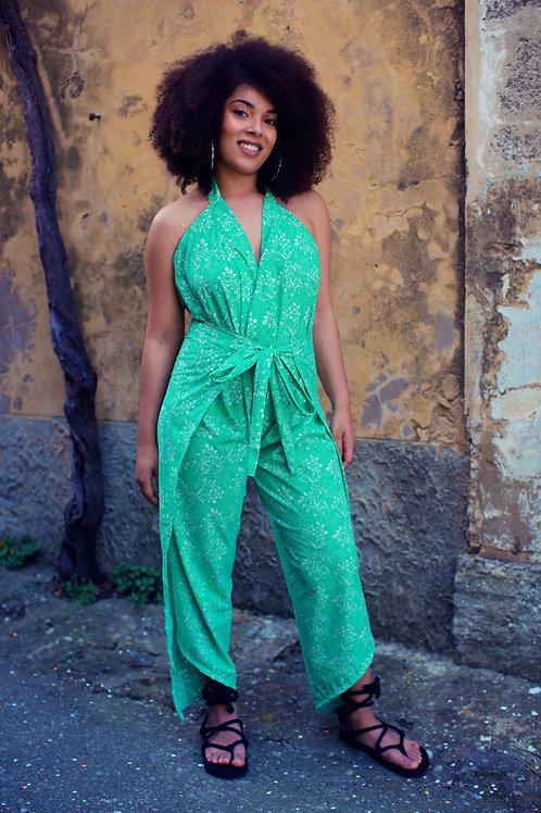 Pantalon Combi draps