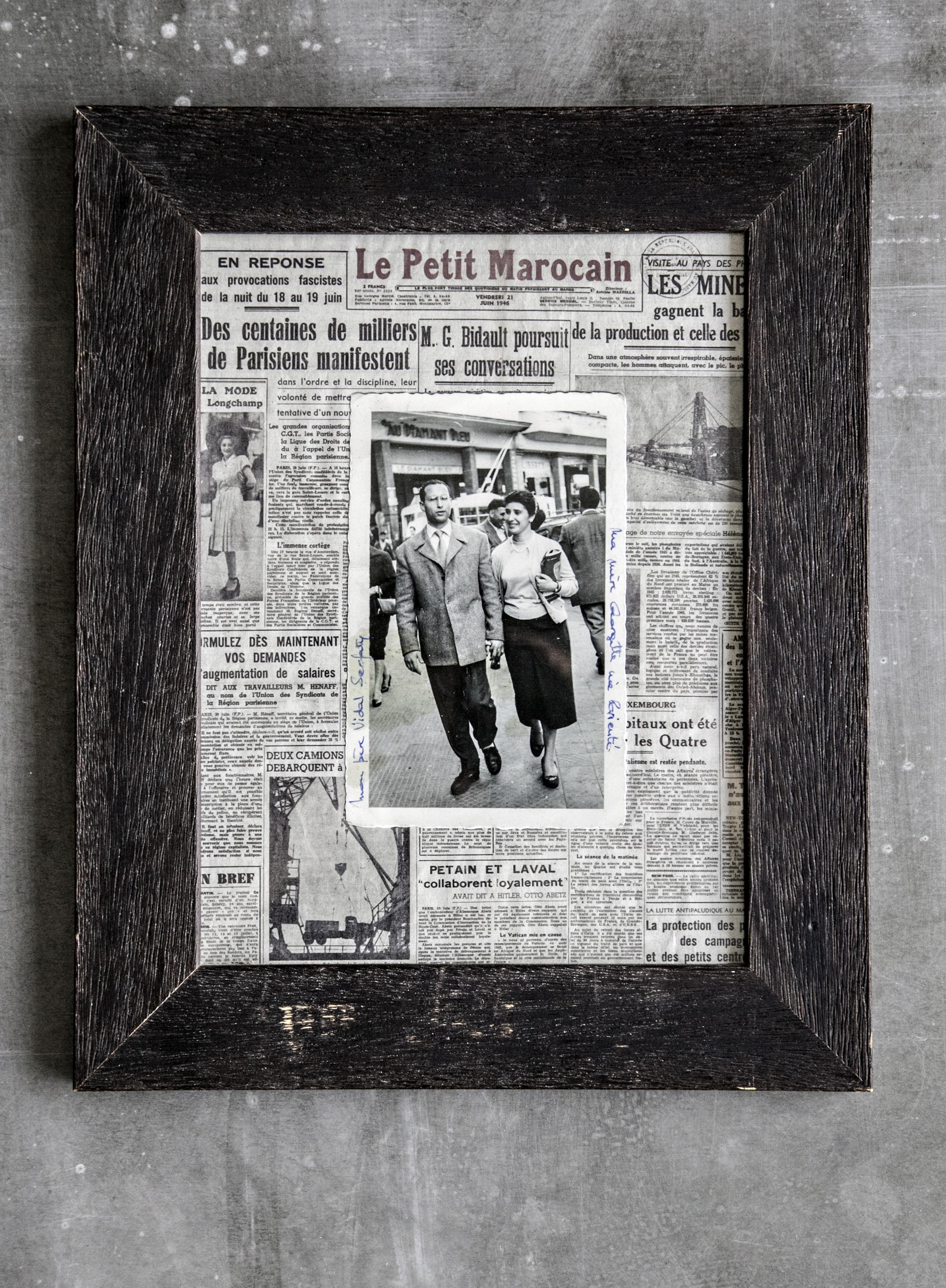 Georgette et Vidal au Diamant Bleu