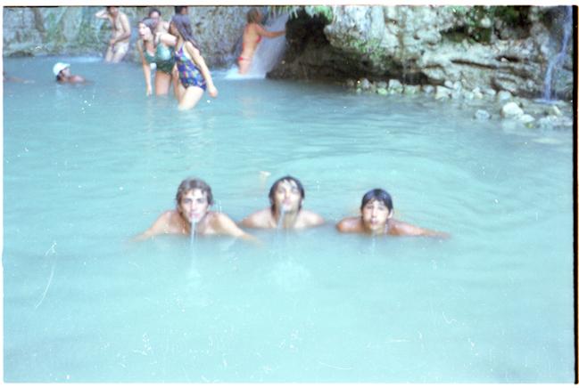 Trio à Banyas
