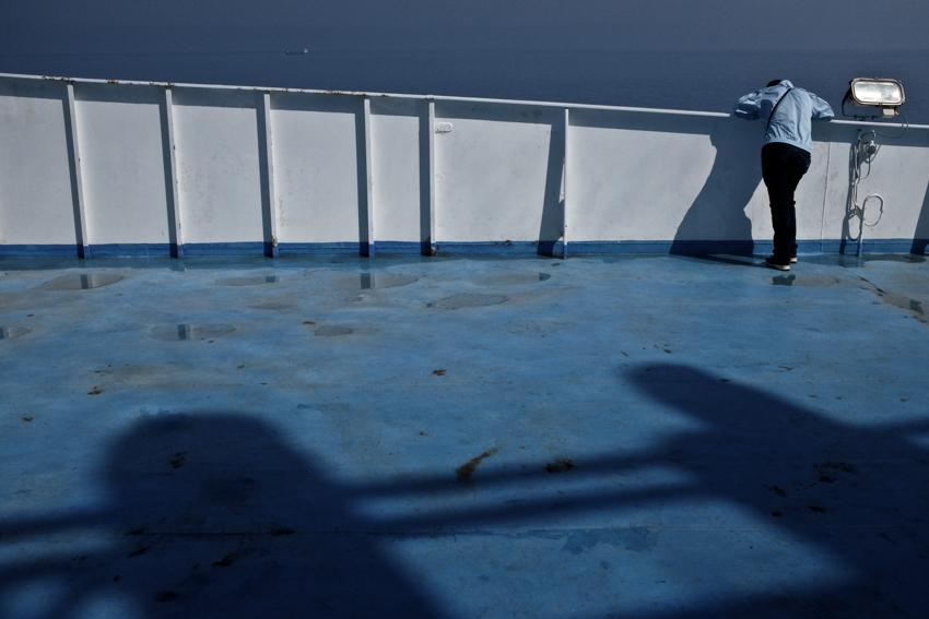 Traversée 2e jour le pont bleu