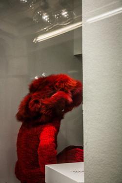 Cheveux de Fourrure Rouge-2
