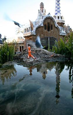 Maia et les Pigeons du Parc Gwell