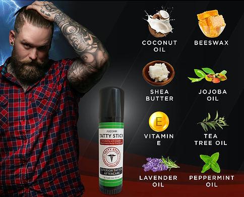 Tatty Stick Ingredients